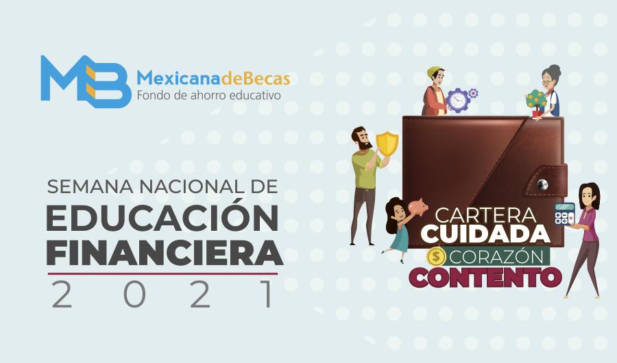 Mexicana de Becas presente en la Semana de Educación Financiera 2021